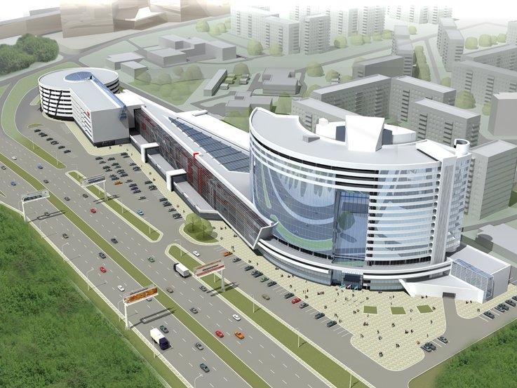 Бизнес-комплекс на окраине города
