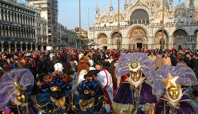 Разработчики представили особенности Венецианского карнавала в игровом автомате