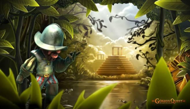 Вышел новый игровой аппарат Gonzo's Quest про конкистадоров