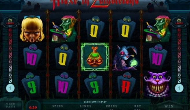 Microgaming выпустила новый гаминатор – Alaxe in Zombieland