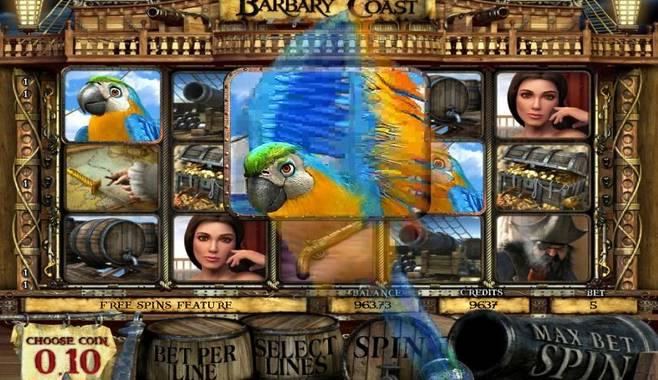Новый игровой слот Barbary Coast (Пиратское Побережье)