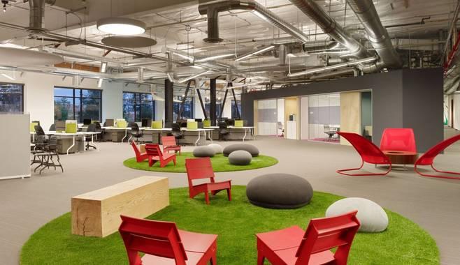 Психологические закономерности организации офисных помещений