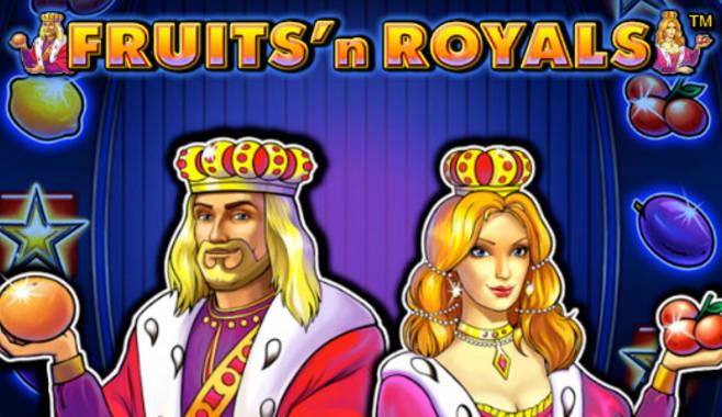 Стал доступен новый игровой аппарат Fruits and Royals
