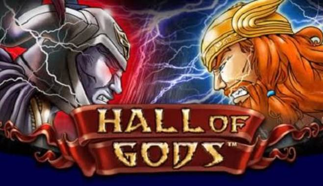 Разработан новый игровой автомат Hall of Gods про скандинавских богов
