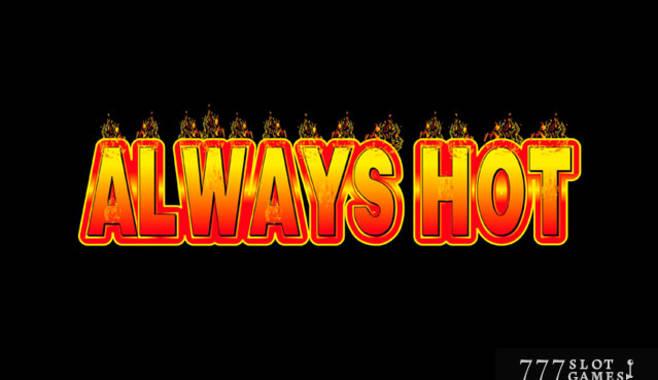 Появился новый игровой аппарат Always Hot от компании Novomatic