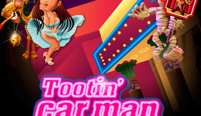 Забавные приключения главного героя в игровом аппарате Tootin Car Man