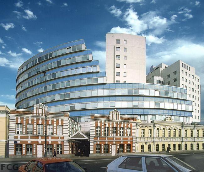 Бизнес-комплекс в центре города