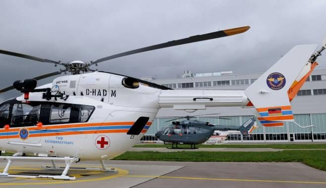 Санитарная авиация для пострадавших