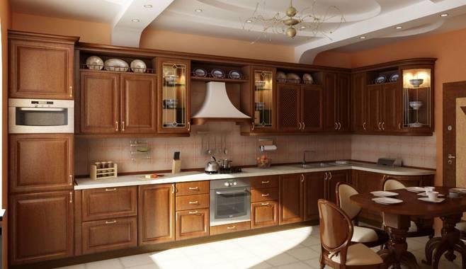 Как обустроить кухню в классическом стиле