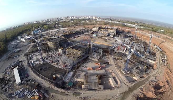 На строительство стадиона в Самаре к ЧМ-2018 уйдет более 17 млрд рублей