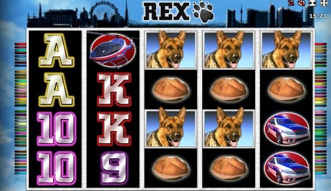 Rex – новый игровой слот от компании Novomatic