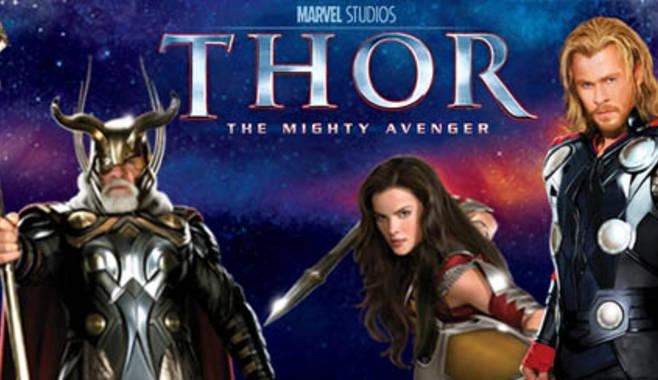 Компания Playtech выпустила новую игру Thor The Mighty Avenger